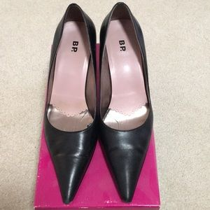 Pointy toe pumps low(er) heel